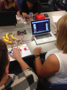 Making with Makey Makey
