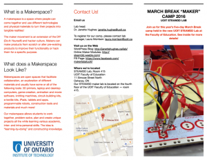 STEAM Lab MBC brochure