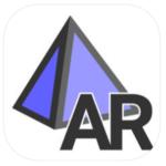 Logo for GeoGebra AR App