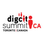 Logo for the Digital Citizenship Summit in Toronto.